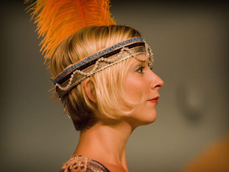 feather head piece