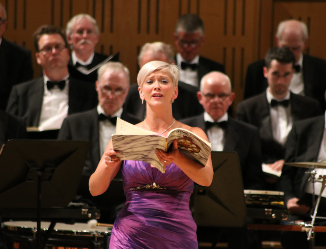 Carmina Burana National Concert Hall – Emma Morwood